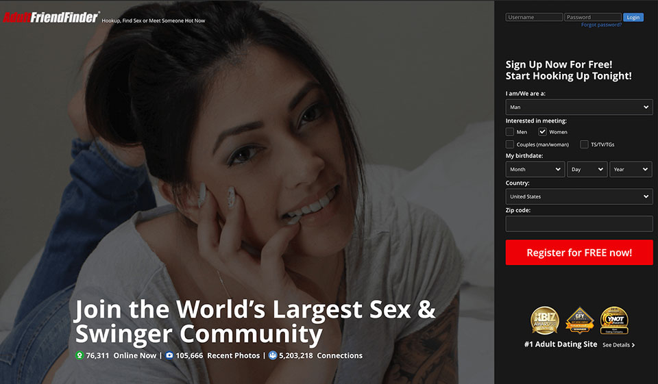 AdultFriendFinder.com Review: Top-Rated Platforms for Safe Flings and NSA Meetups